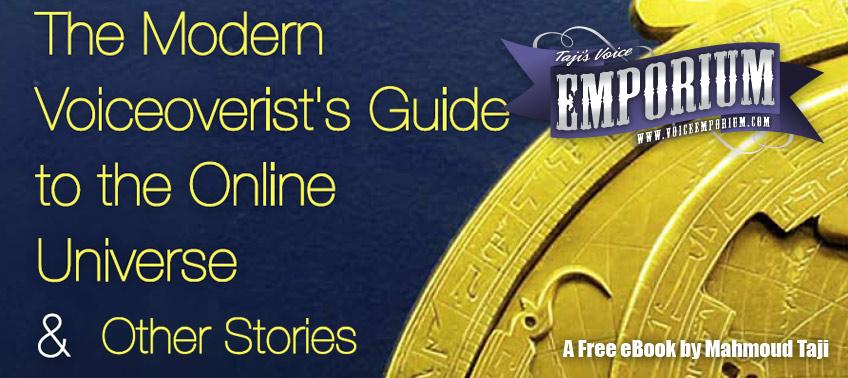 Taji's Free eBook - The Voiceoverist's Guide