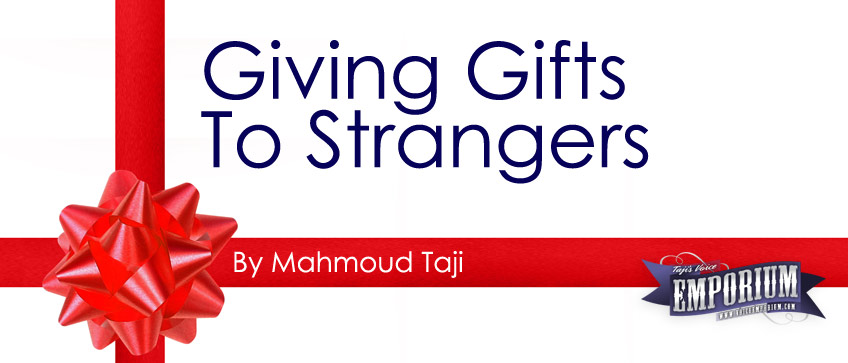 Giving Gifts To Strangers
