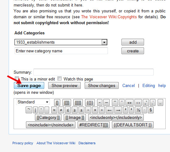 """VOpedia.com Tutorial No. 1 """"Creating Your Own Wiki Page"""" 