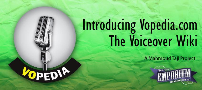 Vopedia.com - The Voiceover Wiki