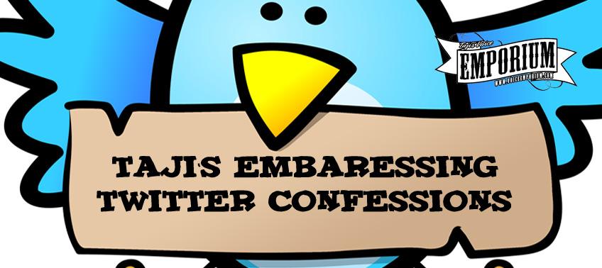Taji's Embarrassing Twitter Confessions