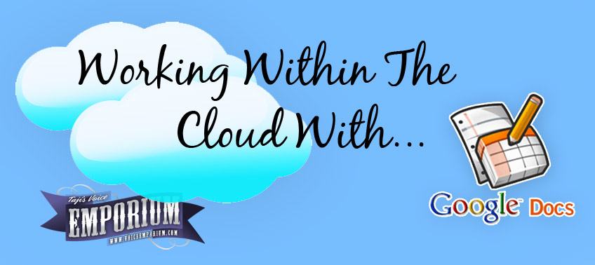 Working Within The Cloud With Google Docs