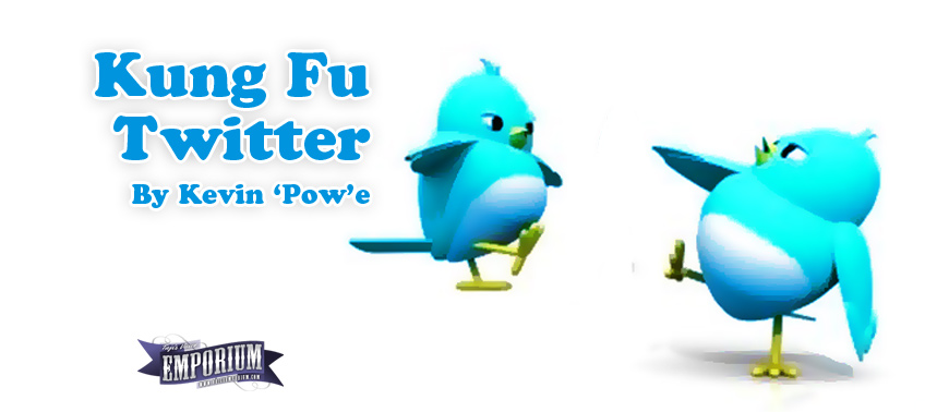 Kung Fu Twitter by Kevin Powe